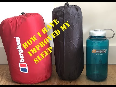How I Have Improved My Sleep | Comparing The Thermarest NeoAir Xlite And Berghaus Peak Sleeping Mats