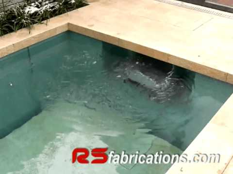 Luxury swimming pool moveable floor solution youtube for Movable swimming pool floor australia