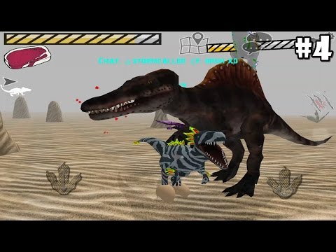 Raptor RPG - Online By StephenAllen - Android / IOS - Gameplay Part 4