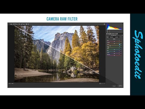 Camera Raw Filter trick in adobe Photoshop|  Photoshop tutorial _sphotoedit thumbnail