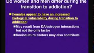 Sex Differences in drug Addiction: A Translational Perspective (3 de 3)