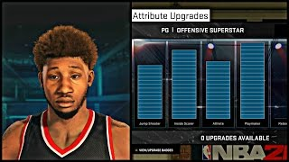 NBA 2K15 MyCAREER - Freddy Banks Attribute Update ! | Face Scan, Jumpshot, Crossovers, Dunk Packages