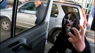Paul, black metal driver during SUBLIME CADAVERIC DECOMPOSITION / MERCILESS PRECISION UK Tour