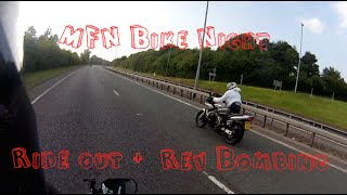 Ride Out with Craig to MFN Bike Night + Some Rev Bombing