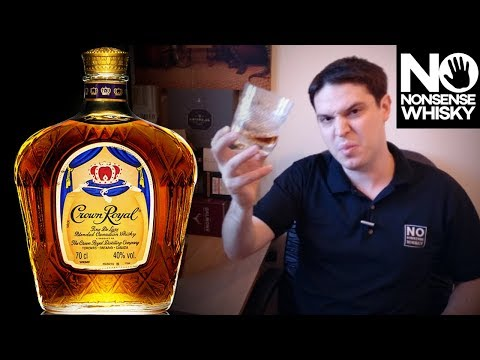 Crown Royal Canadian Blended - No Nonsense Whisky Reviews #28