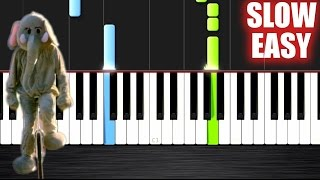 Coldplay - Paradise - SLOW EASY Piano Tutorial by PlutaX