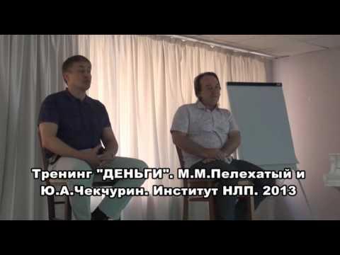 Тренинг Деньги видео Михаил Пелехатый Часть 1