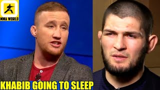 I am going to win by separating the consciousness from Khabib's body,Justin Gaethje,Chandler,UFC 254