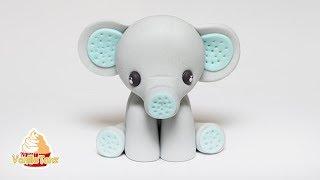 🐘 TUTORIAL Elefanten Baby aus Fondant 😍❤️