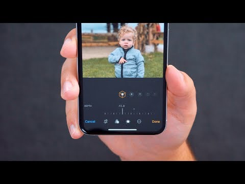 Hands On With IPhone XS/XS Max New Depth Control Feature!