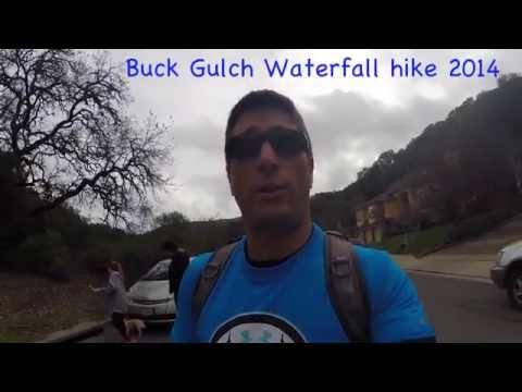 Novato, CA waterfall hike 2014