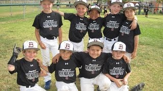 Cepeda Bulls First Baseball Tournament April 2014 - 6U