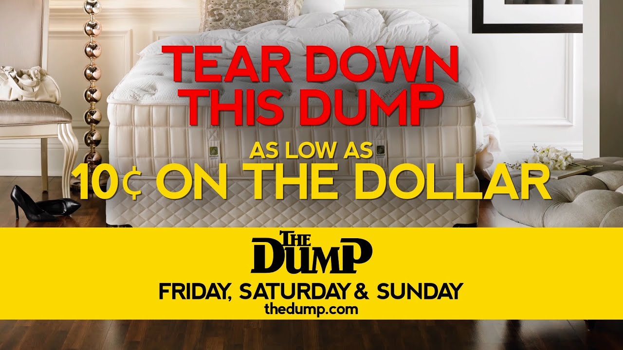 tear down our mattress store u2013 friday sunday the dump furniture outlet