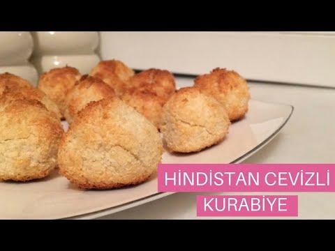 Diyet Unsuz Glutensiz Hindistan Cevizli Kurabiye   Flour Free Gluten Free