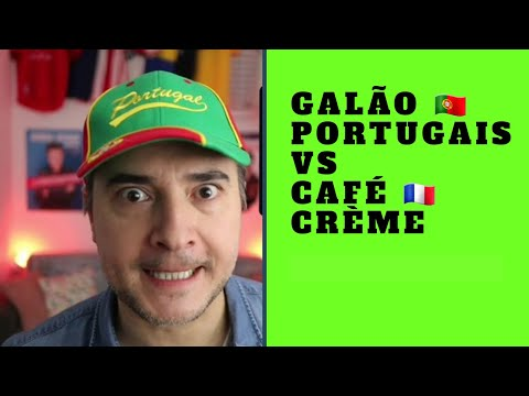 GALÃO PORTUGAIS ou CAFÉ AU LAIT CRÈME - JOSÉ CRUZ