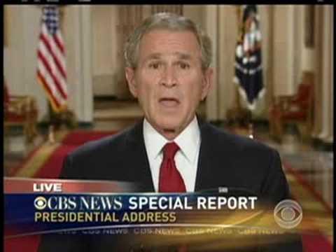 Bush On Economic Crisis