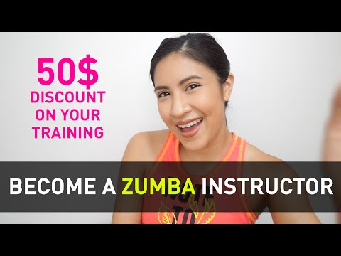 How To Become A Zumba Instructor | 50$ Discount on your Training