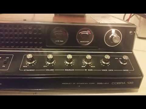 Cobra 139 23 Channel Radio expanded channels