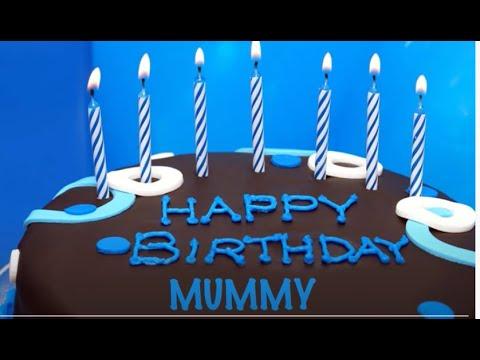 Mummy  Cakes Pasteles - Happy Birthday