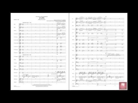 Cups (When I'm Gone) arranged by Johnnie Vinson