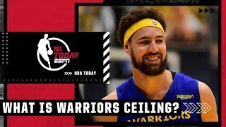 Kendrick Perkins believes the Warriors ceiling is the NBA Finals 🏆👀   NBA Today