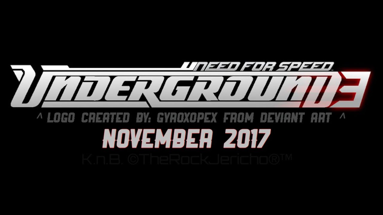 need for speed underground 3 xbox one release date Let's assume the modern ea makes a nfs underground 3 ive played every nfs game every released till date and the only ones i really.