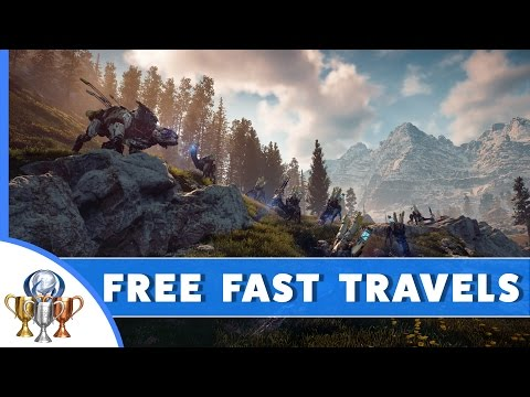 Horizon Zero Dawn - How To Get Free, Unlimited Fast Travels
