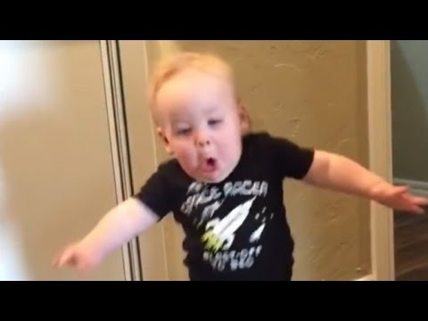 Watch a Baby Get Terrified Over His Grandpas Screaming Roar