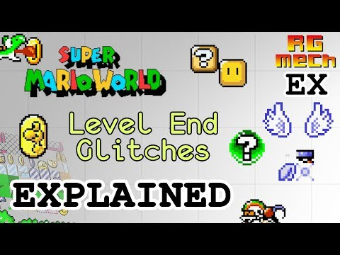 Super Mario World - Level End Glitches