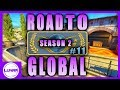 CS:GO ROAD TO GLOBAL S2 EP. 11: THEY ALMOST MADE A COMEBACK! - FULL COMPETITIVE MATCHMAKING GAMEPLAY