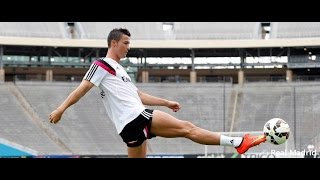 REAL MADRID BEHIND THE SCENES: Ronaldo continues training