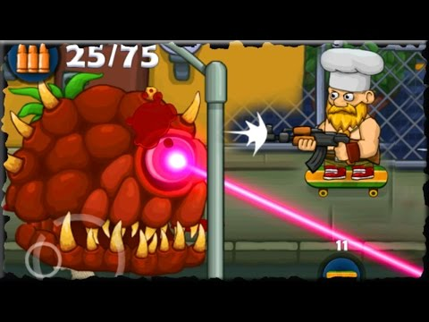 Bloody Harry Mobile Game (Kill Brain Zombie Boss)
