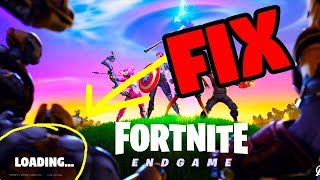 How To Fix Fortnite Loading Screen Freeze PC