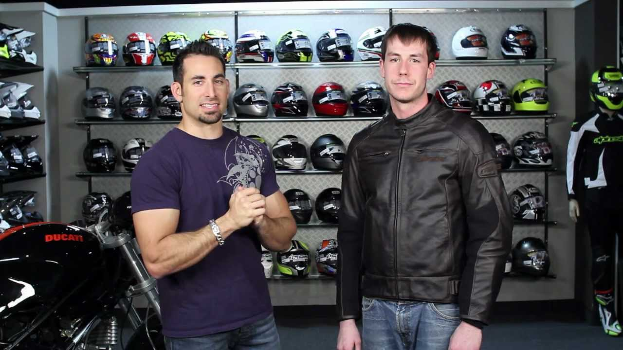 Dainese R Twin Leather Jacket Review At Revzilla Com Youtube