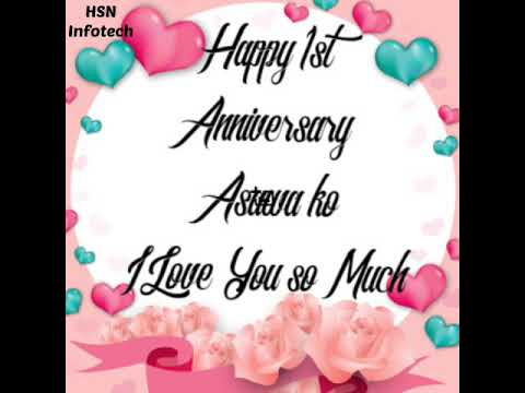 Happy Anniversary Asawa Ko Youtube