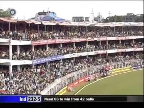 India v Australia 2007 Nagpur ODI Australia win part 2