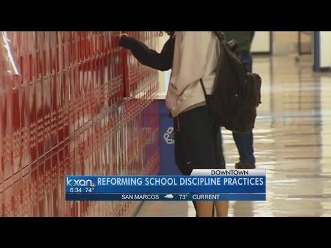 Study reccomends ways to reform school discipline