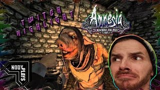Twitch Highlight | Amnesia A Machine For Pigs - (Scary Moments) Part 2