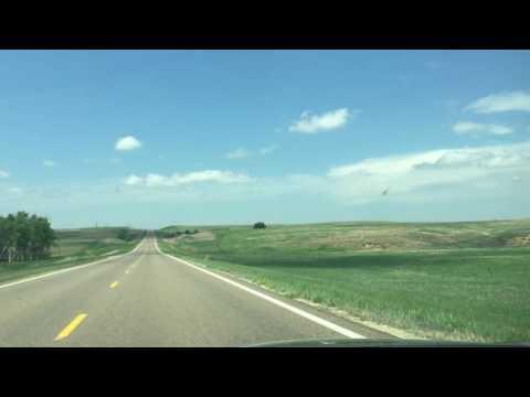 Traveling on State Highways in Western Kansas