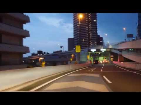 Tokyo expressway night drive 4K 新宿 横浜
