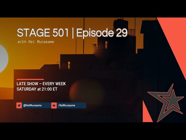 STAGE 501 | Episode 29 'A New Year, A New Era'