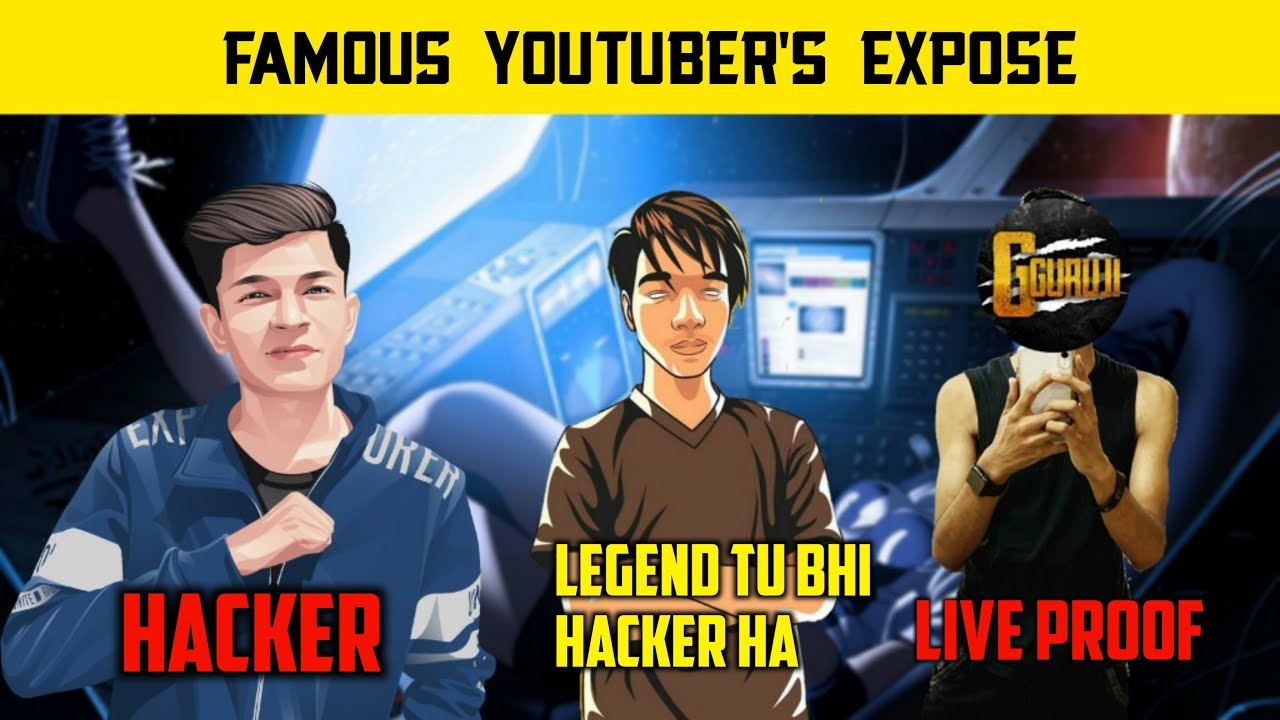🔥Pubg Mobile Famous YouTuber's Exposed - Gamexpro Legend X - G Guruji - Pubg Mobile Hindi Gameplay