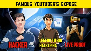 🔥Pubg Mobile Famous YouTuber's Exposed - Gamexpro Legend X - G Guruji - Pubg Mobile Hindi Gameplay