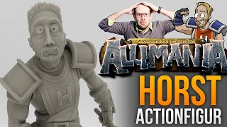 Allimania: Die Horst-Actionfigur zum selber ausdrucken