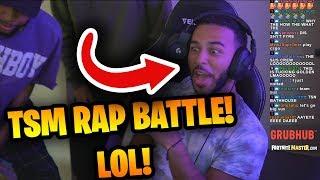 Myth, Daequan and Hamlinz  EPIC RAP BATTLE! (HILARIOUS) | Fortnite Battle Royale