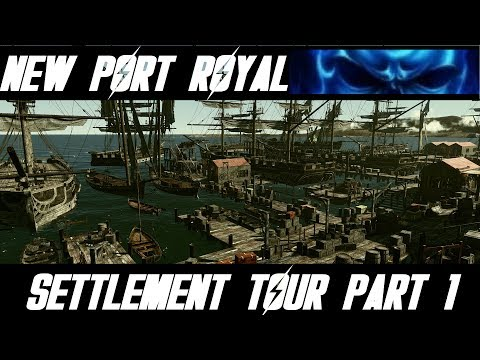 New Port Royal / Settlement Tour Prt. 1 / Spectacle Island / Fallout 4 / MODS