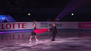 Анастасия Мишина Александр Галлямов Показательные выступления Командный чемпионат мира