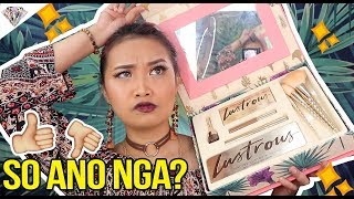 LUSTROUS COLLECTION BRUTALLY HONEST REVIEW | Sa totooo lang... | Nadine Lustre X Bys Makeup |