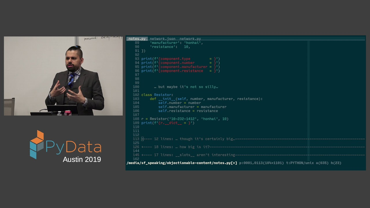 Image from James Powell: Objectionable Content | PyData Austin 2019