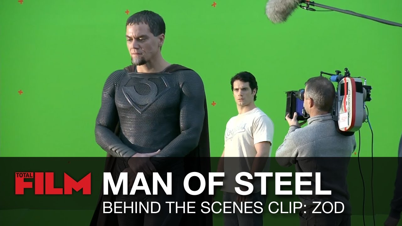 Man of Steel Behind The Scenes: Strong Characters ...